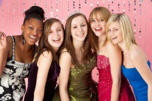 sweet sixteen party girls teen photos
