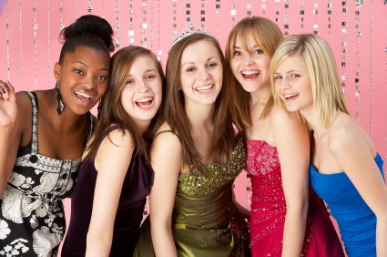 sweet sixteen party girls teen photos
