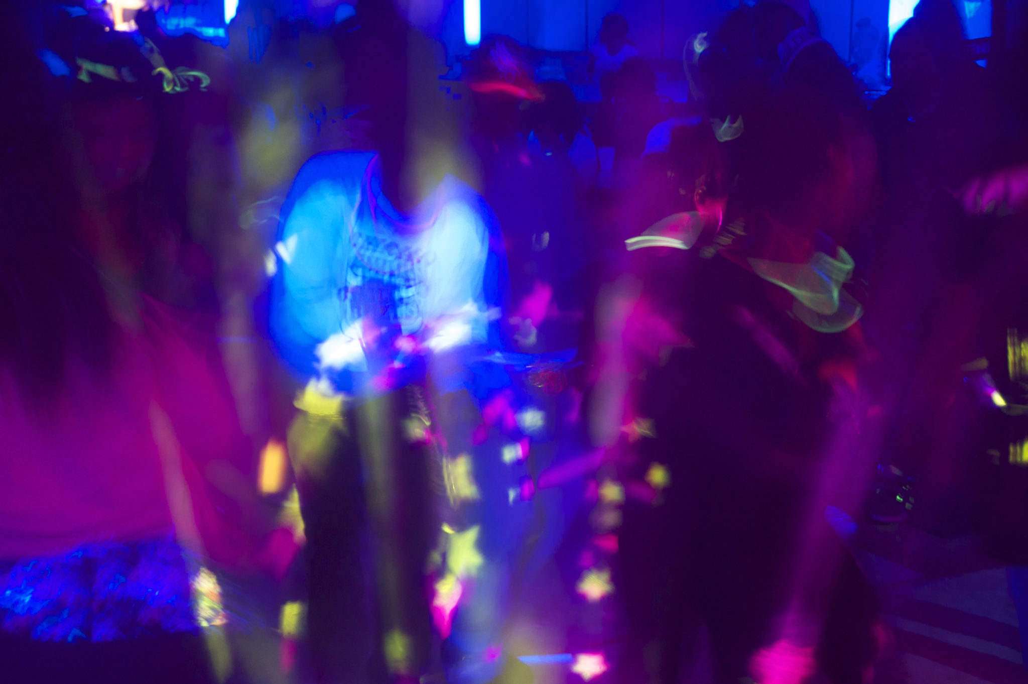 light dj blacklight events glow party extreme lighting black