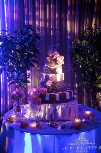 fairy tale cake at sweet sixteen party