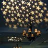 star pattern gobo on a tray ceiling at a party