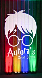 harry potter gobo theme with custom design